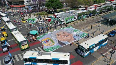 El Frente Sindical de Hugo Moyano y la CGT de Héctor Daer celebraron el Día de la Militancia por separado