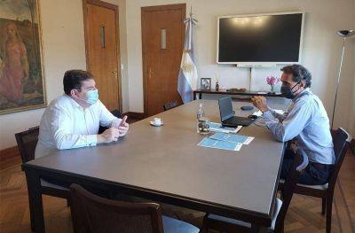 Montenegro y Katopodis avanzan con un plan de obras para Mar del Plata