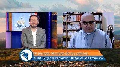 """Monseñor Sergio Buenanueva sobre la """"Jornada Mundial de los Pobres"""" y la crítica a la Iglesia de """"favorecer el pobrismo"""""""