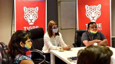 El Municipio de Tigre comenzó a trabajar en la integración del Cupo Laboral Trans