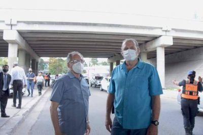 Berni y Descalzo coordinaron acciones de seguridad en Ituzaingó