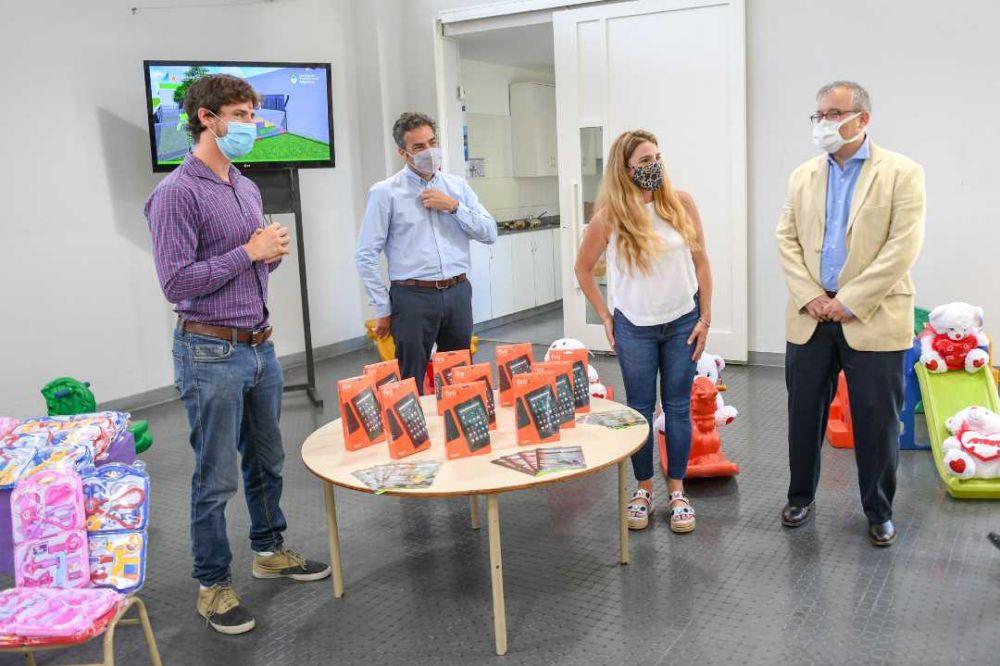 Juan Andreotti se reunió con funcionarios de Desarrollo Social
