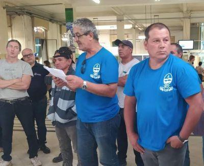Trabajadores municipales reclaman por un aumento salarial