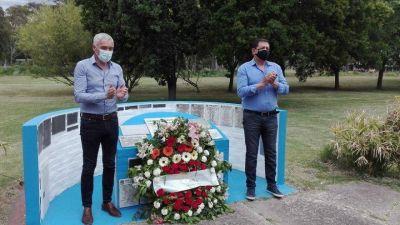 Berisso: Garaza y Cagliardi conmemoraron juntos el día del Militante