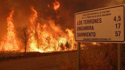Gran noticia para Córdoba: No podrán venderse las tierras arrasadas por el fuego