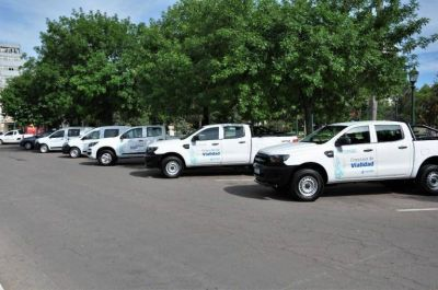 Entregaron vehículos al municipio