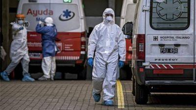 Murieron 241 personas y 10.332 fueron diagnosticadas con coronavirus en el país
