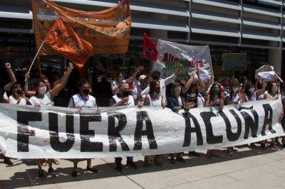 Piden la renuncia de Soledad Acuña
