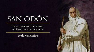 Hoy celebramos la fiesta de San Odón, Abad