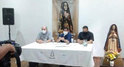 Preparativos para la Bajada de la Virgen del Valle de Catamarca