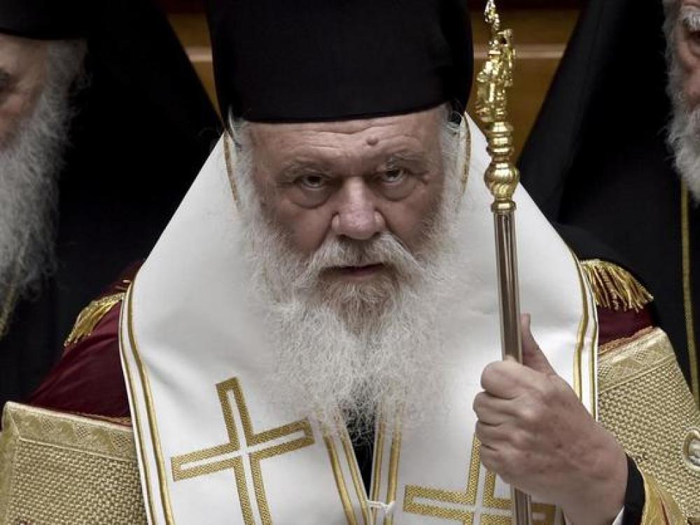 El primado de la Iglesia ortodoxa griega, en terapia por Covid-19