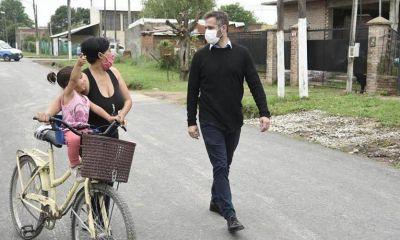 El intendente Achával anunció obras de asfalto para la localidad de Lagomarsino