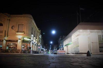 Comenzó la renovación de luminarias LED en el espacio público