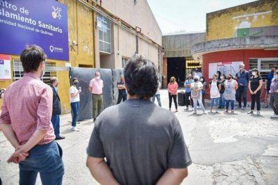 Mendoza cerró el centro de aislamiento sanitario de la UNQ