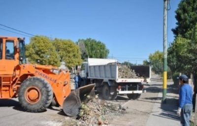 Se realizará el operativo de limpieza en el barrio Colonia Ferroviaria