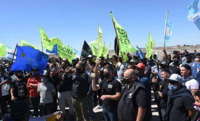 Madryn: movilización a favor de la minería