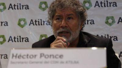 Estalló Ponce contra Moyano: lo acusó de entrometerse en su gremio y de querer formar una estructura paralela