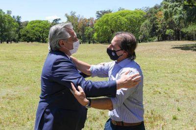 La necesidad de unir a la región, eje del encuentro relámpago entre Alberto Fernández y Lacalle Pou