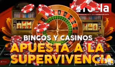 Bingos y casinos apuestan a la supervivencia