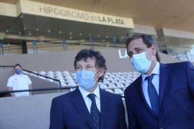 En el Gran Premio Dardo Rocha, Garro prefirió mostrarse con Posse ¿Una nueva señal?