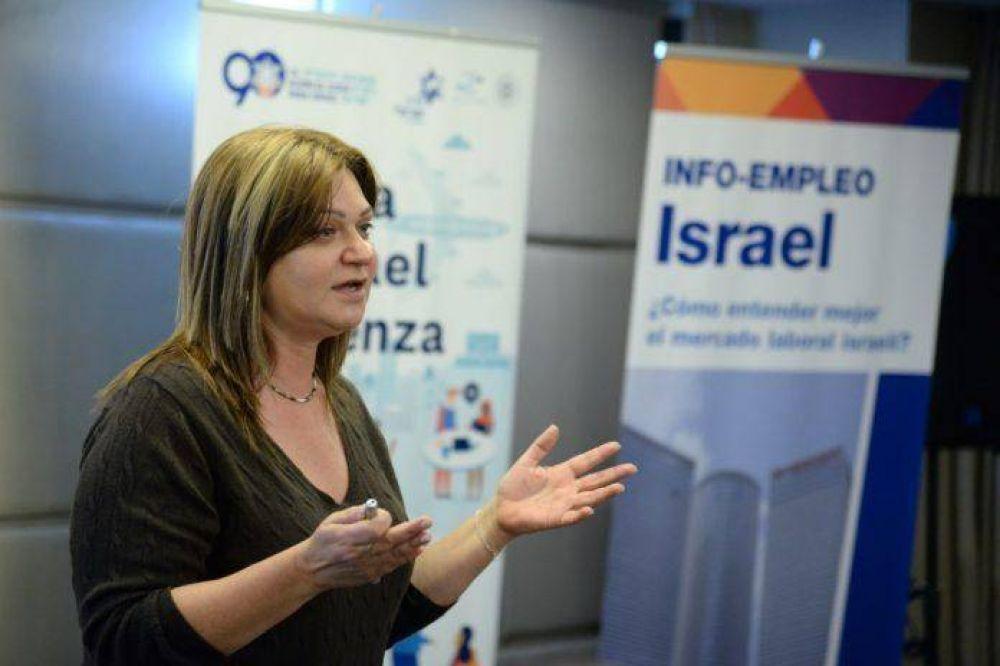 Gabriela Glazman asumió como la nueva representante de la Agencia Judía para el cono sur