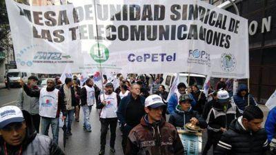 Telefónicos cerraron paritaria en un 20% para el segundo semestre de 2020