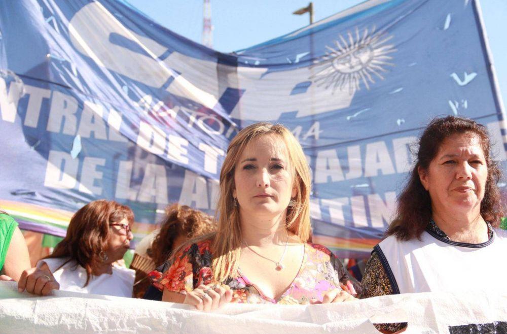 ATE repudió la violenta irrupción en el gremio de empleados del ENACOM contra la dirigente nacional Mercedes Cabezas
