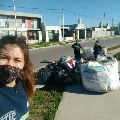 Los Puntos Azules llegan al ProCrear para reciclar y sumar materiales a los miles de kilos ya recuperados