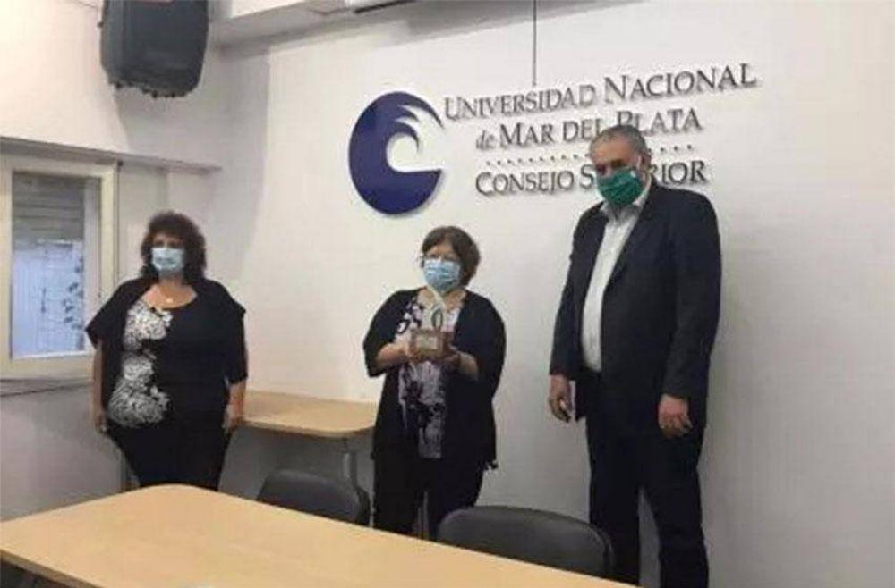 La UNMDP distinguió al Sistema Municipal de Salud