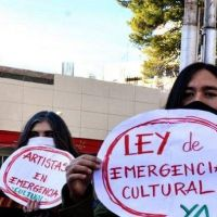 Artistas marplatenses intervinieron la Municipalidad para pedir por la
