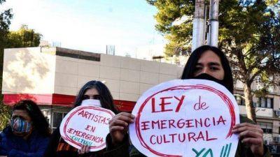 Artistas marplatenses intervinieron la Municipalidad para pedir por la