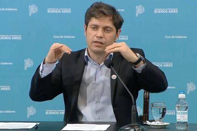 Intendentes opositores ponen condiciones para apoyar el presupuesto de Axel Kicillof