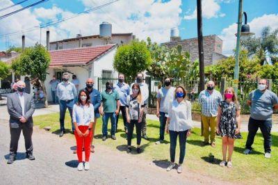 """Malena Galmarini inauguró la red de agua potable para el barrio """"El Progreso"""" en Tigre"""