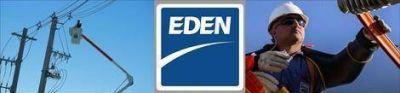 EDEN anunció más cortes de luz para el resto de la semana
