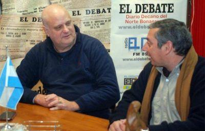 Visita Oficial: Carlos Enciso realizará su segunda visita a Zárate el próximo lunes 30, pero será la primera como Embajador de Uruguay