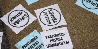 Periodistas de medios escritos pararán las principales redacciones del AMBA durante 24 horas