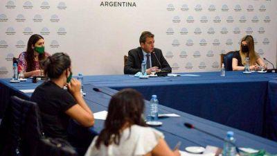 Sergio Massa buscará consensuar la agenda parlamentaria para arrancar esta semana el debate por el aborto en la Cámara de Diputados