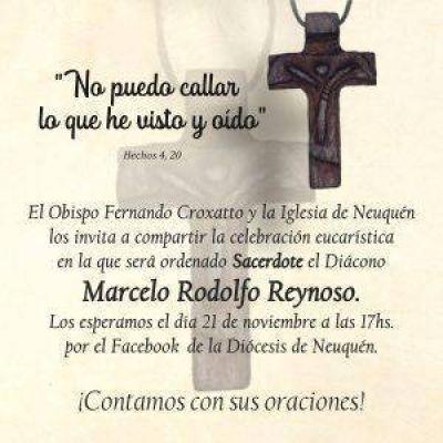 La diócesis de Neuquén tiene un nuevo sacerdote