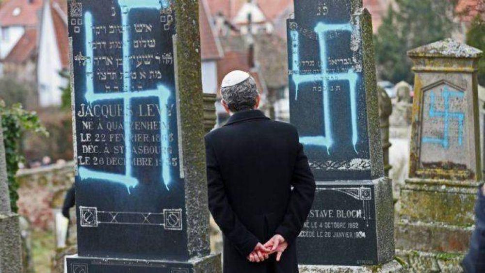 Antisemitismo: descripción de los incidentes registrados en la Unión Europea 2009-2019