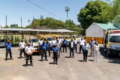 Vicente López reconoce a los trabajadores de defensa civil en su día