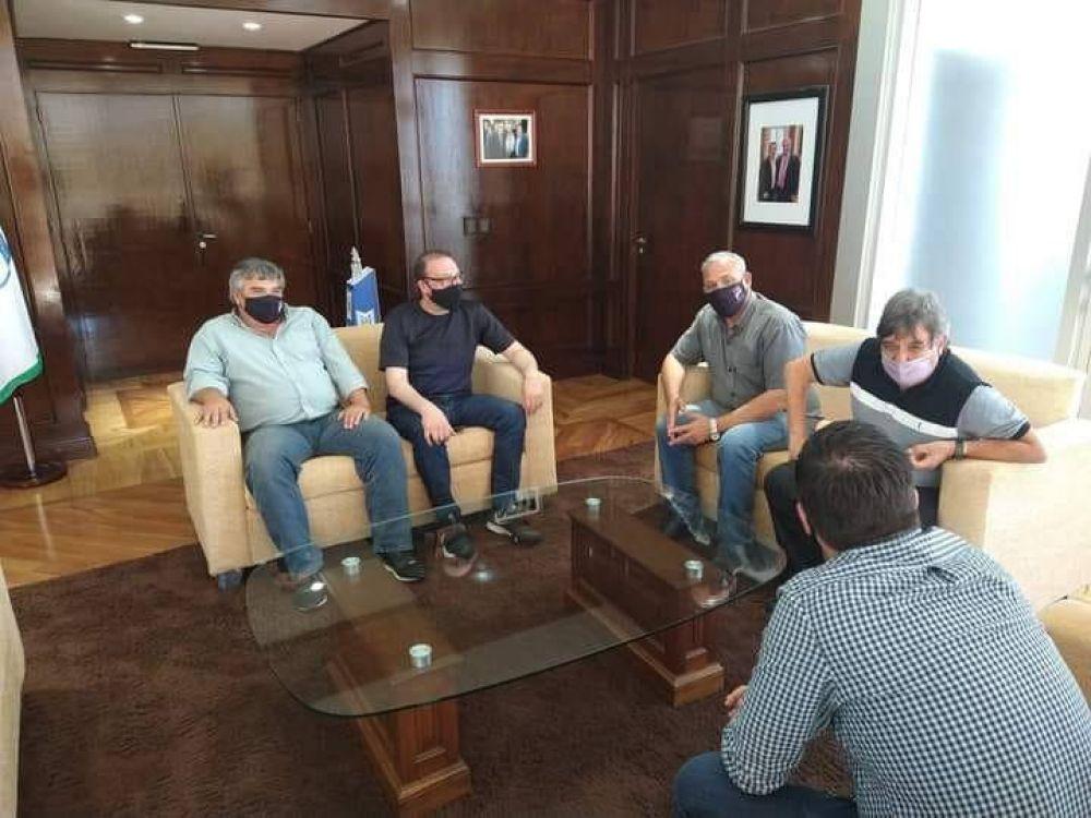 Reunión con el sindicato municipal