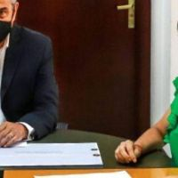 Ferraresi recibió a la intendenta de Quilmes, Mayra Mendoza