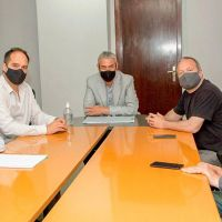 Sabbatella mantuvo una reunión de trabajo con Ferraresi