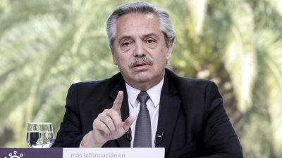 Alberto Fernández propuso que los créditos hipotecarios se actualicen por salario
