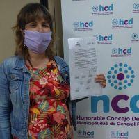 Por primera vez, una concejala se tomará licencia por maternidad