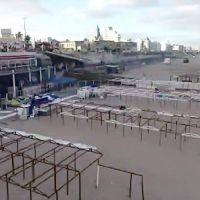 Los destrozos del balneario Perla Norte tienen un costo de 350 mil pesos