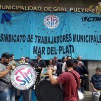 Segundo día de retención de tareas por parte de los empleados municipales