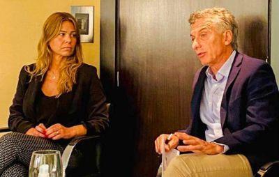 Andrea Giorgini se reunió con Mauricio Macri en el marco de la renovación de dirigentes