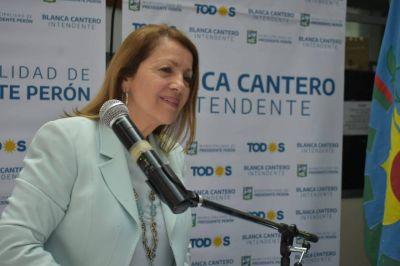 """Entrevista GLP: En el aniversario de Presidente Perón, la intendenta Cantero advirtió que falta """"mucha infraestructura"""""""