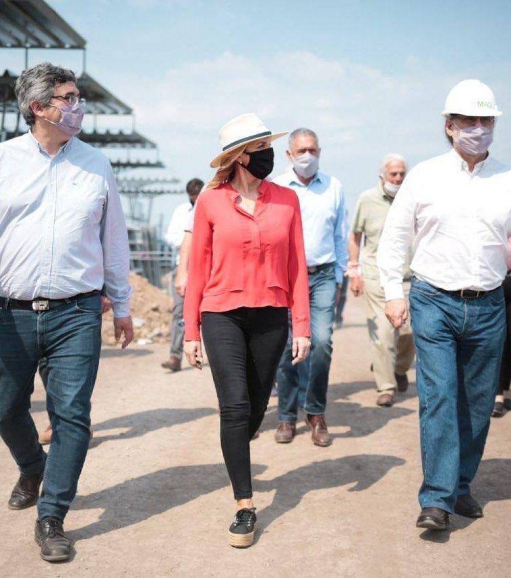 Fassi dijo que la inauguración del Mercado Agroganadero potenciará a toda la región